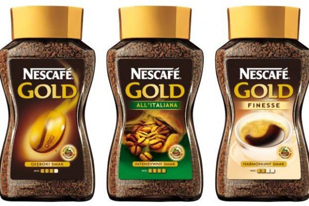 Nescafe o różnych mocach kawy