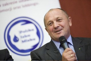 Minister rolnictwa: Protesty zachodnich producentów mleka mają podtekst polityczny