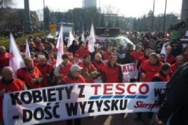 Przewodnicząca Sierpnia'80:  W ciągu roku załoga sklepów Tesco w Polsce zmniejszyła się o 1/3