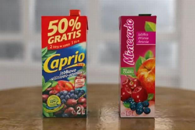 Sąd zakazał emisji reklamy porównującej soki Maspeksu i Agros Novej
