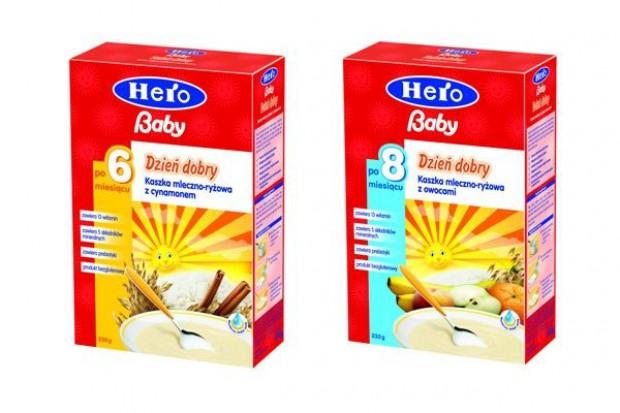 Hero Baby wprowadza nowe kaszki dla niemowląt