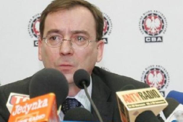 Mariusz Kamiński odwołany. Nowym szefem CBA został dyrektor Centralnego Biura Śledczego, Paweł Wojtunik