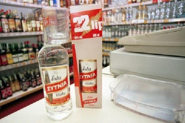 Rynek wódki w tym roku może się skurczyć nawet o 10 proc.