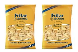 Ćwiartki ziemniaków w rozszerzonej ofercie firmy Fritar