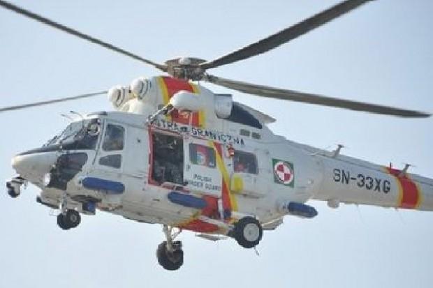 Trzy osoby zginęły w wypadku śmigłowca Straży Granicznej