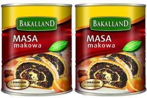 Udoskonalona receptura Masy Makowej Bakallandu