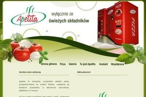 Firma sprzedająca pierwszą w Polsce pizzę z automatu buduje własną fabrykę dodatków
