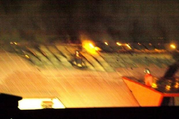Pożar w Zakładach Mięsnych Dobrowolscy. Właściciel podejrzewa podpalenie