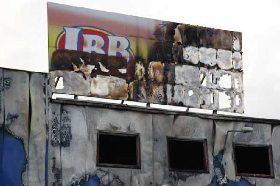 Pożar JBB w Łysych. 11 mln zł na pomoc dla byłych pracowników