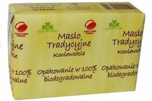 Pierwsze na świecie masło w opakowaniu 100 proc. biodegradowalnym