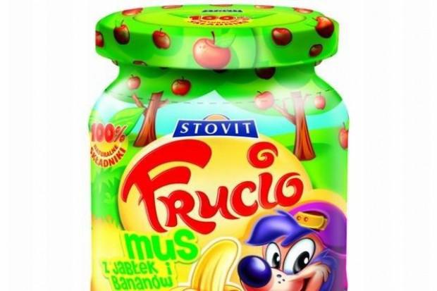 Stovit promuje bezglutenowe musy owocowe Frucio
