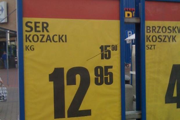 Ceny żywności w sklepach skoczyły o 4,4 proc. W nowym roku mogą dalej rosnąć