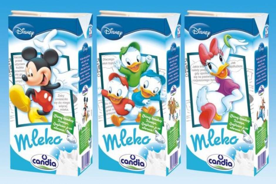 Candia chce w innowacyjny sposób zachęcić dzieci do picia mleka