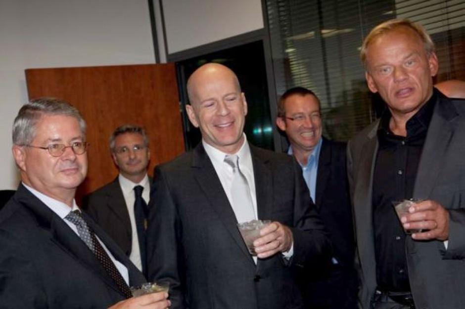 Bruce Willis zostanie akcjonariuszem Belvedere