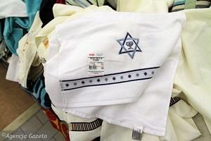 Real sprzedaje ręczniki na wagę z Gwiazdą Dawida