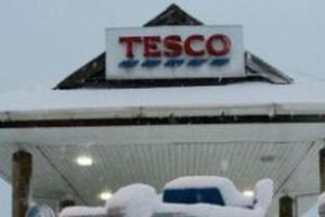 Tesco szacuje straty spowodowane śniegiem i srogą zimą nawet na 250 mln funtów