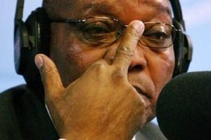 Prezydent RPA broni w Davos poligamii
