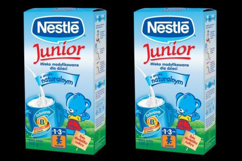 Nowy smak mleka modyfikowanego dla małych dzieci
