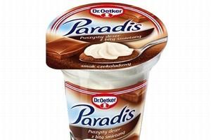 Paradis - deser z prawdziwą bitą śmietaną