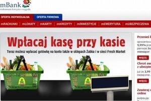 Sklepy sieci Żabka będą wpłatomatami mBanku