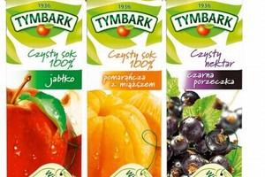 Maspex zmienia logo i opakowania wyrobów pod marką Tymbark w Polsce i Europie Centralnej