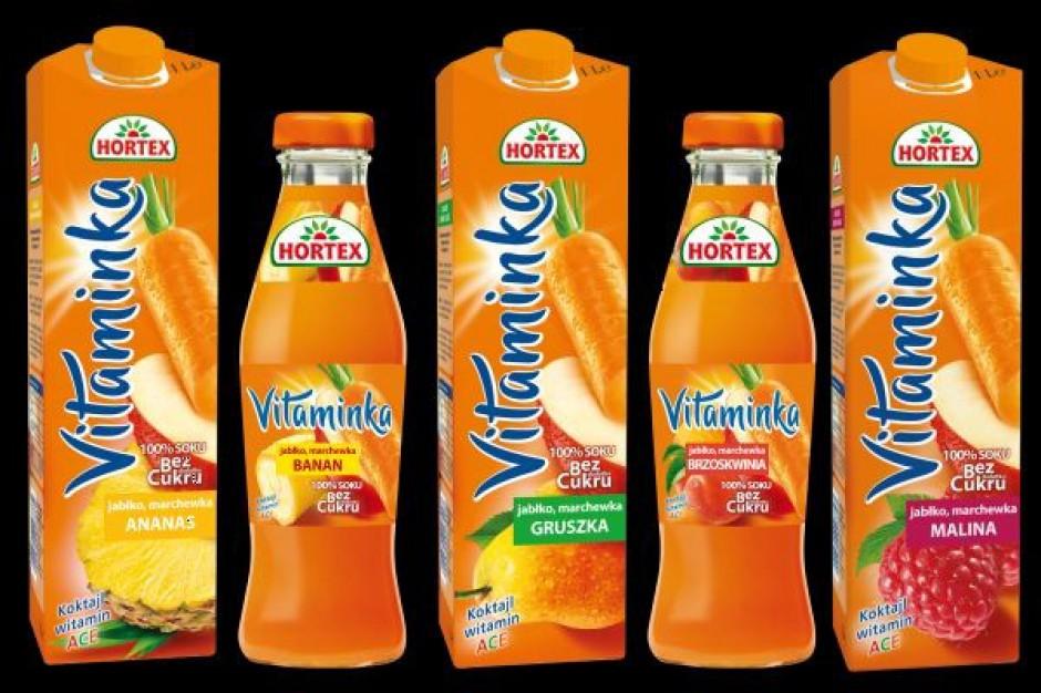 Hortex ulepsza recepturę soku Vitaminka