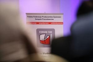 Relacja: Forum 100 - Pierwsze Międzybranżowe Spotkanie Kadry Zarządzającej Przemysłu Żywnościowego