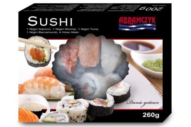 Abramczyk wprowadza do oferty sushi