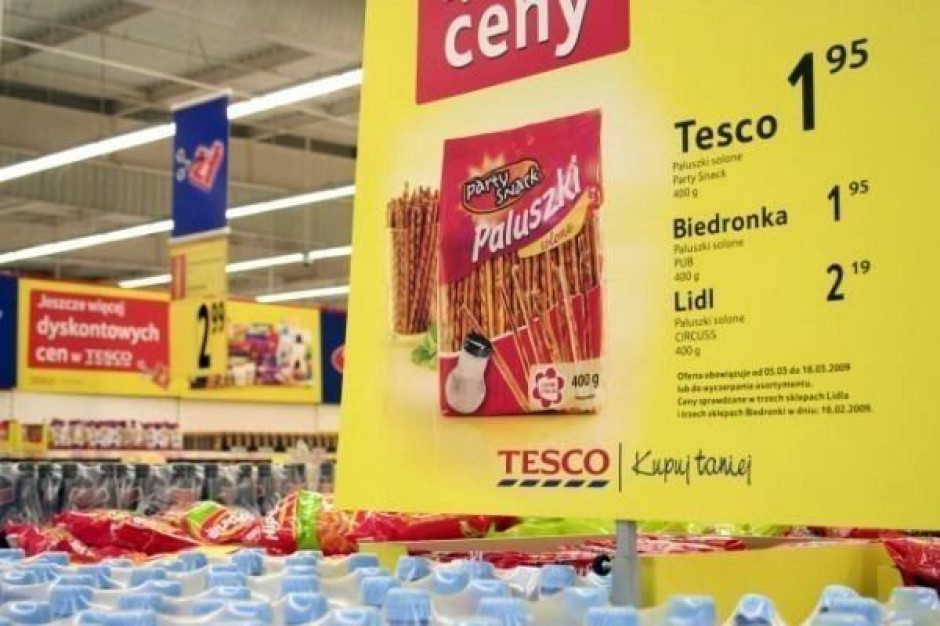 Ceny w sklepach rosną coraz wolniej