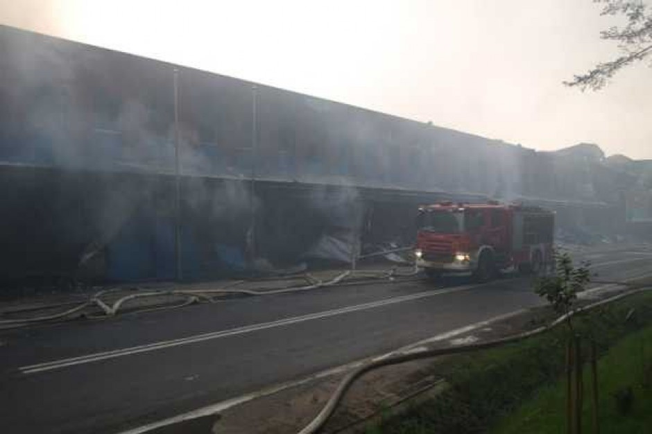 Pożar w zakładach mięsnych koło Ryk