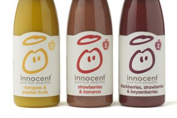 Coca-Cola zwiększa udziały w firmie Innocent, producencie napojów funkcjonalnych