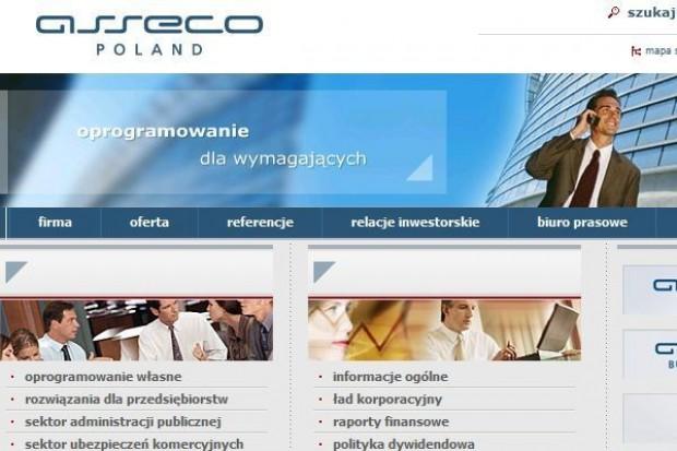 Asseco Poland rozważa przejęcie 13 podmiotów