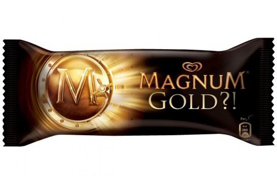 Algida proponuje lody w kolorze... złota