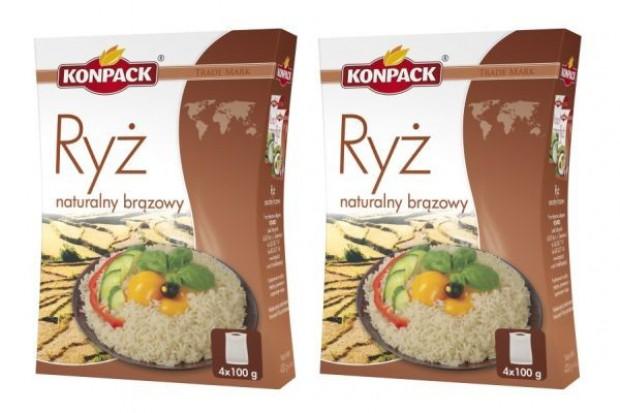Konpack wzbogaca oferę o naturalny ryż brązowy
