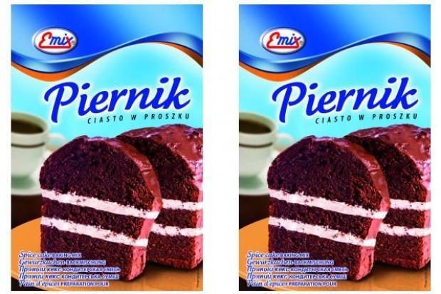 Nowość marki Emix: Piernik - ciasto w proszku