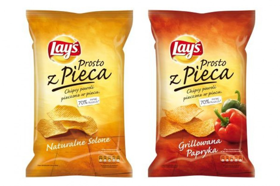 Lay's wprowadza pierwsze w Polsce pieczone chipsy ziemniaczane