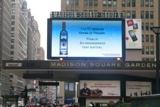 W 2009 r. Belvedere podwoiło sprzedaż wódki Sobieski w USA