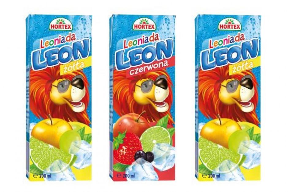 Leoniada - nowy napój dla dzieci w ofercie Horteksu