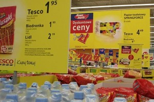 W kwietniu ceny w polskich sklepach rosły wolniej