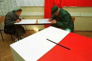 Wybory przebiegają spokojnie