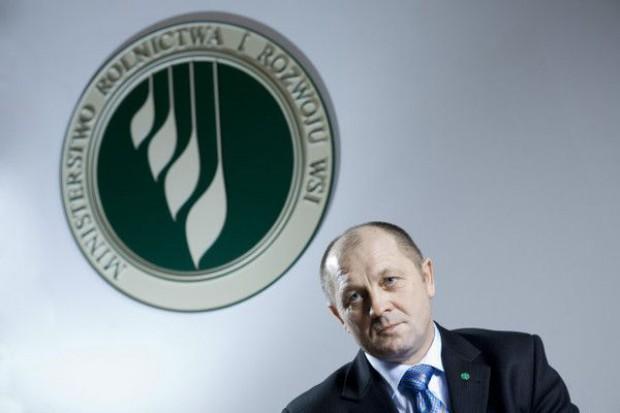 Minister Sawicki: Uważam, że w Polsce nie zabraknie zbóż konsumpcyjnych