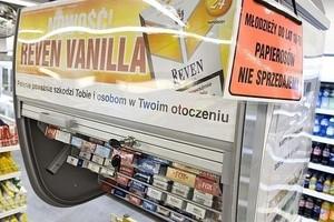 Od listopada sprzedawcy nie będą mogli sprzedawać papierosów w systemie samoobsługowym