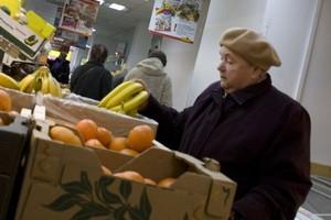 W maju zmalała sprzedaż żywności