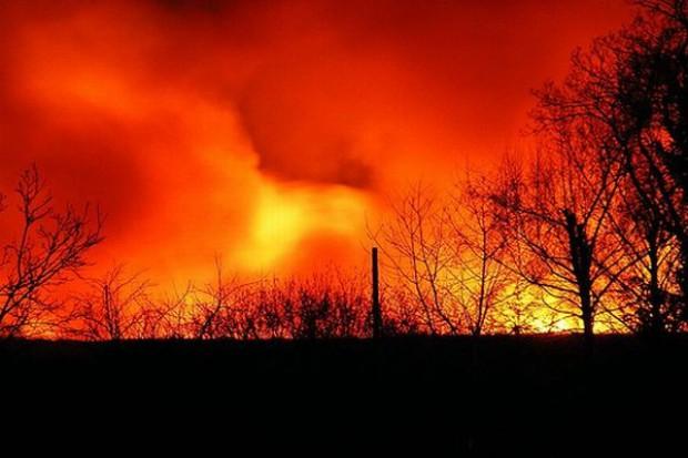 Straty w pożarze m.in. firmy produkującej opakowania dla branży spożywczej mogą sięgnąć nawet 25 mln zł