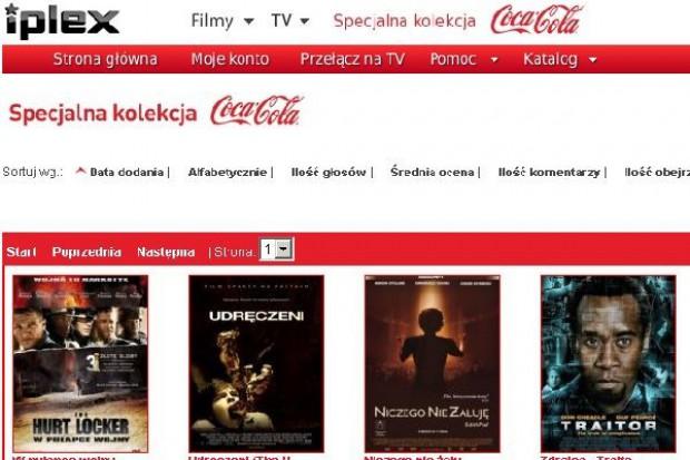Coca-Cola będzie promować swoje produkty z filmami na żądanie