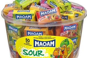Superkwaśne gumy Maoam Sour wchodzą do Polski