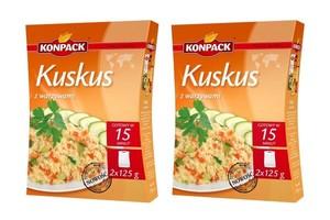 Nowość od firmy Konpack - Kuskus z warzywami