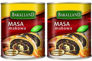 Bakalland walczy o udziały w rynku mas makowych