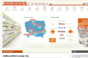 W minionym tygodniu sklepy internetowe obniżyły ceny o 10 zł za koszyk podstawowych produktów