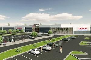 Sieć Tesco otworzy potężny hipermarket w parku handlowym Europa Centralna